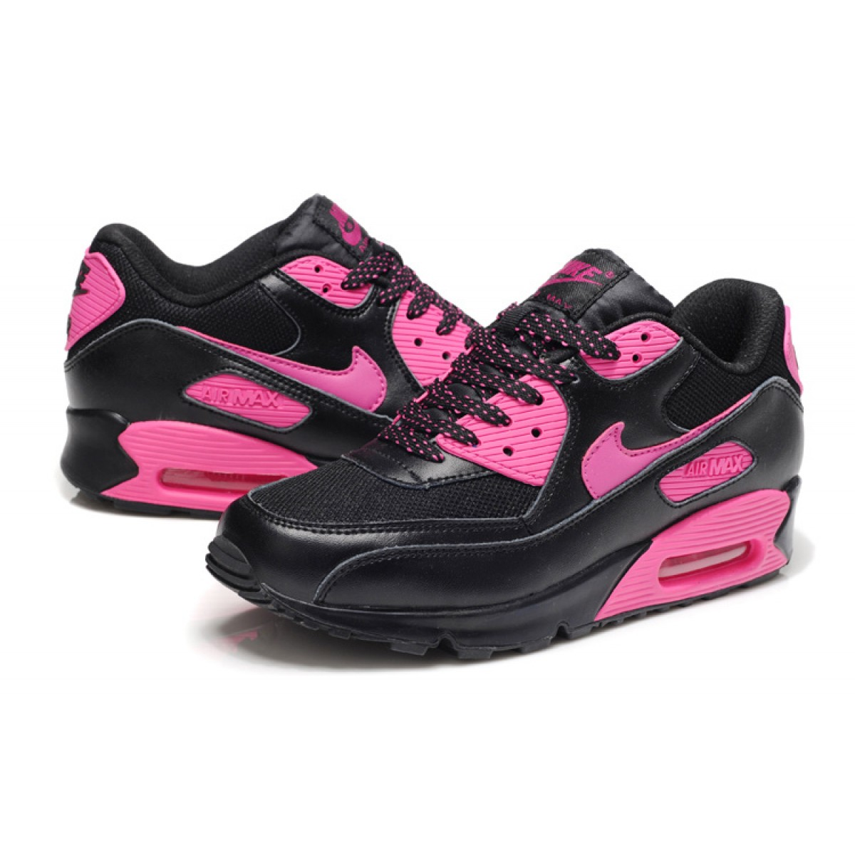 air max 90 femmes rose et noir