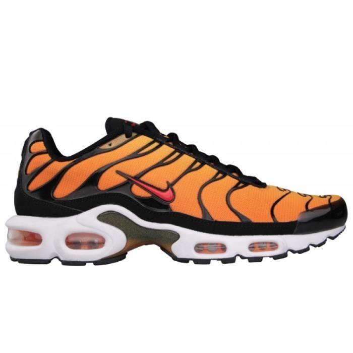 chaussure nike tn noir et orange